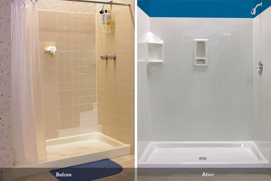 Joliet Bathroom Remodel - Prime Baths and Home Solutions - BCI-Before-and-After-1