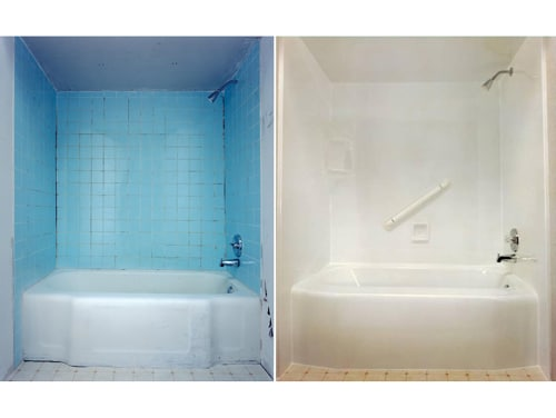 Joliet Bathroom Remodel - Prime Baths and Home Solutions - Gallery-Before-After-1-Prime
