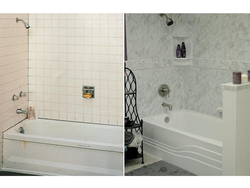 Joliet Bathroom Remodel - Prime Baths and Home Solutions - Gallery-Before-After-2-Prime