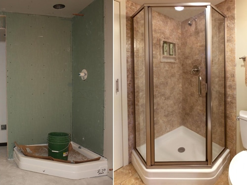 Joliet Bathroom Remodel - Prime Baths and Home Solutions - Gallery-Before-After-3-Prime